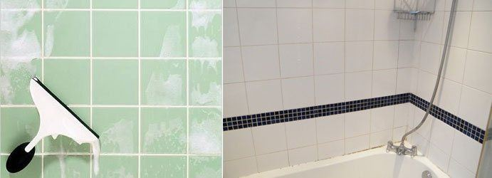 Bathroom Tile Cleaning Woden