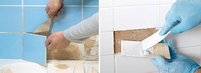 Damaged Tile Repair Mullion