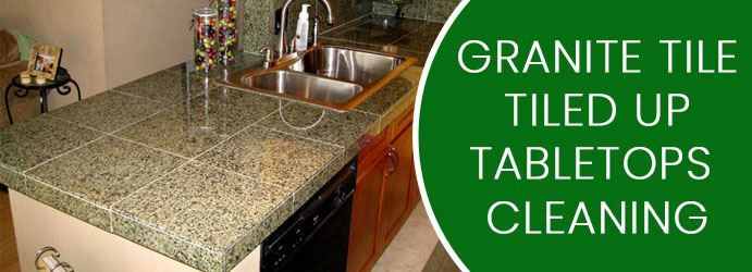 Granite Tile a Table Top Cleaning