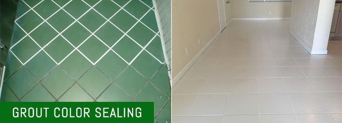 Grout Color Sealing Red Hill