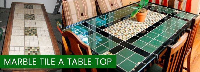Marble Tile a Table Top Cleaning