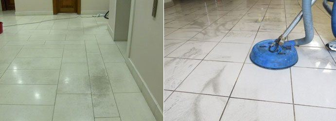 Tile Stain Removal Services Mullion