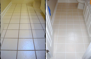 Grout Color Sealing Bend of Islands