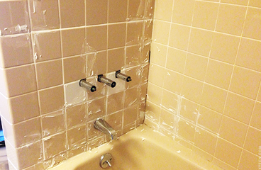 Shower Tiles Restoration Blakeville