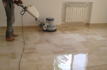 Tile Polishing Pound Bend