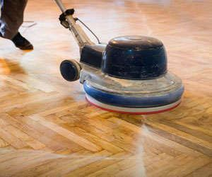Floor Buffing and Floor Polishing Long Forest