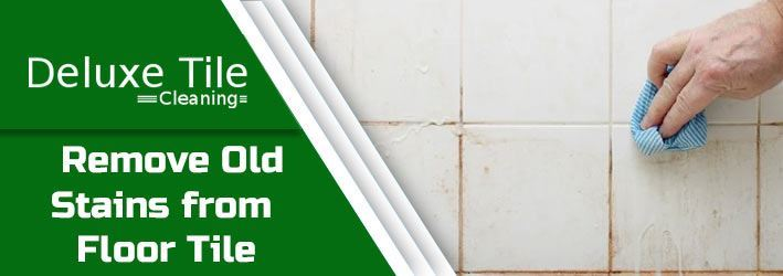 Remove Old Stains from Floor Tile