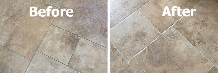 Protect Grout from Staining